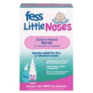 mom350461 reviewed FESS® Little Noses Saline Nasal Spray