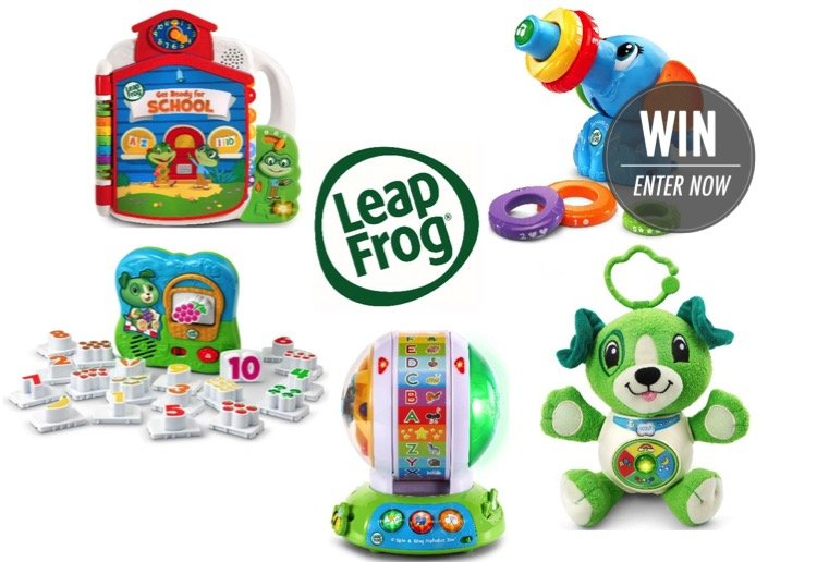 WIN 1 of 4 prize packs from LeapFrog