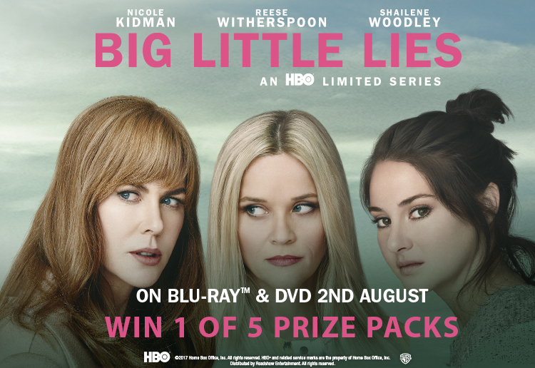 WIN 1 of 5 Big Little Lies prize packs
