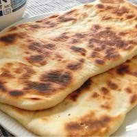 4 Ingredient Naan Bread