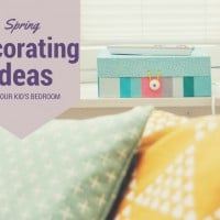 Spring Decorating Ideas for your Kid's Bedroom