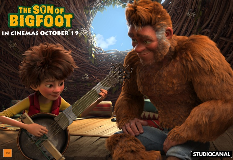 WIN 1 of 10 'The Son Of Bigfoot' prize packs