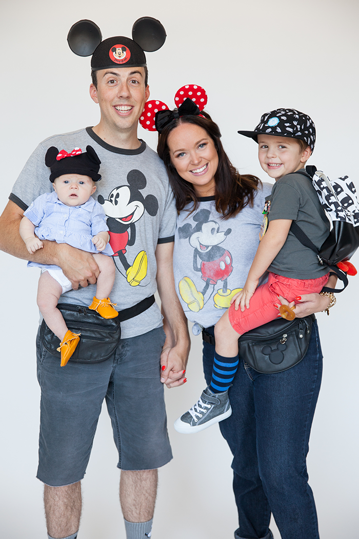 Perfect for a last minute costume! Liz from Say Yes & her family have it all sorted!