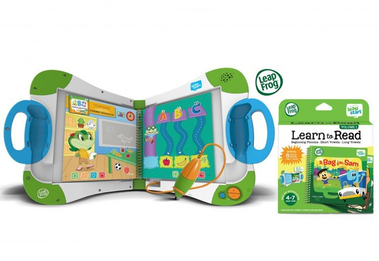 WIN 1 of 5 LeapFrog LeapStart Prize Packs