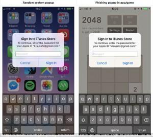 app phishing
