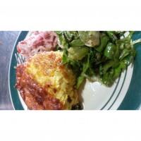 riccotta and vegetable frittata