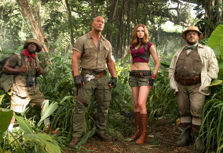 WIN Jumanji: Welcome to the Jungle Family Movie Tickets