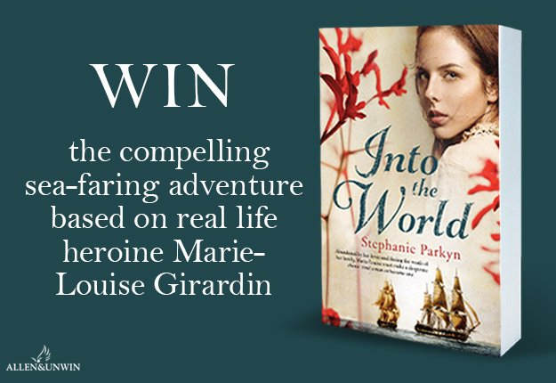WIN 1 of 20 copies of the novel Into the World by Stephanie Parkyn
