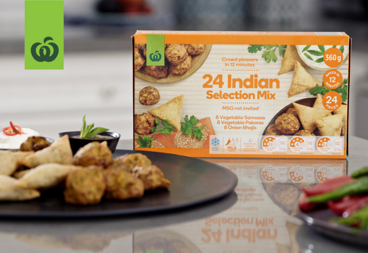 Woolworths Indian Selection Mix