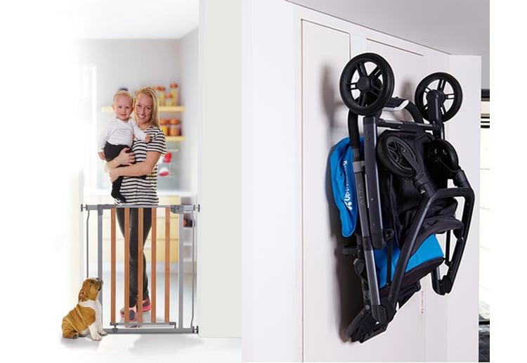 Win 1 of 6 Dreambaby® StrollAway Pram Hanger and Cosmopolitan Safety Gate Prize Packs