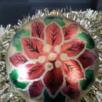 Folk Art Christmas Bauble