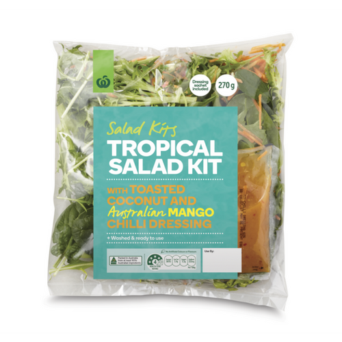 woolworths summer meats and salads product review_product shot_tropical salad kit_500x500