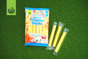 woolworths_back to school review_crunchy snacks dried fruit and air popped corn_cheese & crackers cheese sticks and cheese slices_cheese sticks_product image_300x200