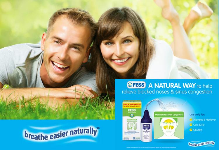 FESS® Sinu-Cleanse Gentle Cleansing Nasal & Sinus Wash Kit