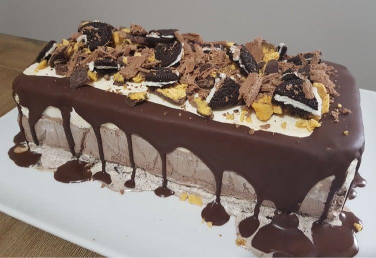 Simple Ice Cream Cake