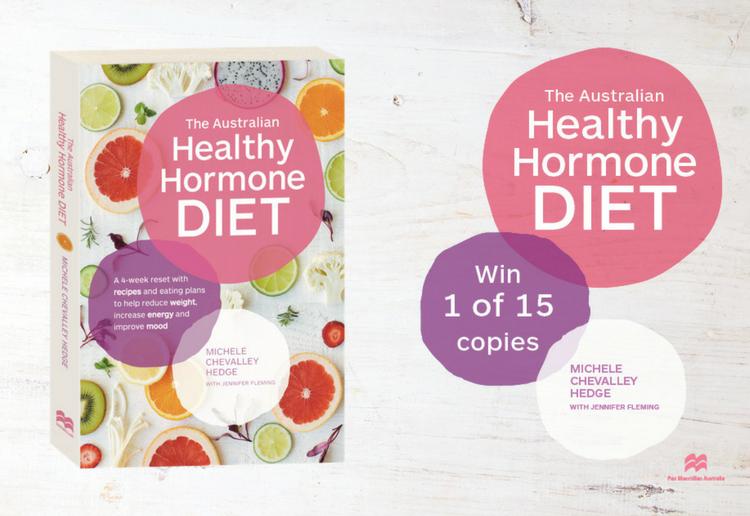 WIN 1 of 15 copies of The Australian Healthy Hormone Diet