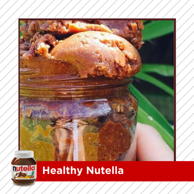 If you can't do Nutella, but you can't do without it either, make your own! RECIPE HERE >