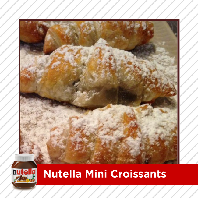 Why have your croissants plain when you can fill them with Nutella?! HOW TO right here >