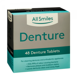 All Smiles Denture Tablets 48pk