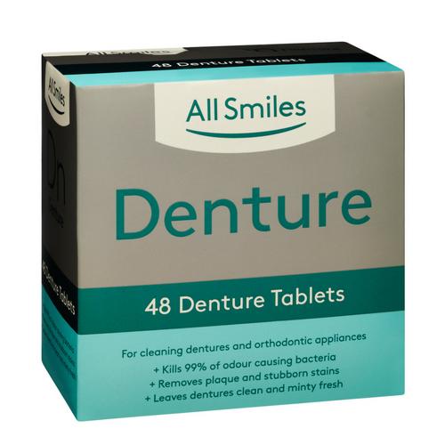 All Smiles Denture Tablets 48pk