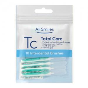 All Smiles Total Care Interdental Brush 10pk