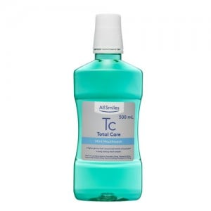 All Smiles Total Care Mint Flavoured Mouthwash 500ml