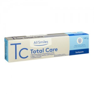 All Smiles Total Care Toothpaste 140g