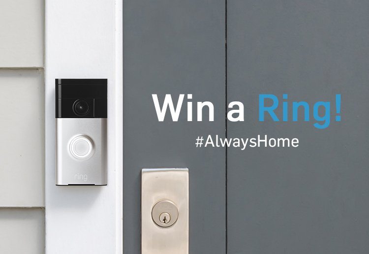 WIN 1 of 3 Ring Video Doorbells