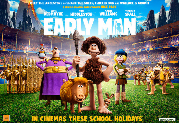 Win Tickets to the New Aardman Movie EARLY MAN.
