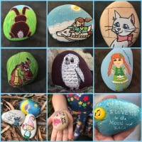 Rock Painting to hide and share