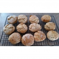 Banana And Fig Scones