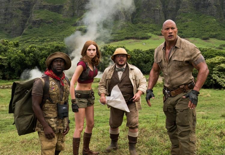 Jumanji: Welcome to the Jungle DVD Giveaway