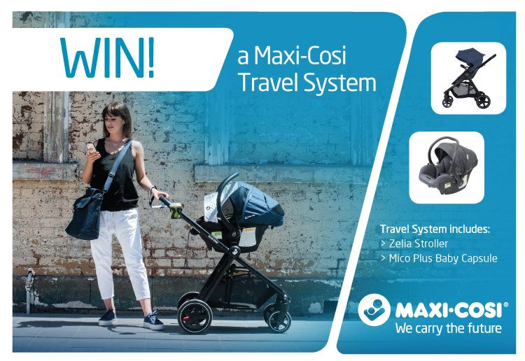 Maxi-Cosi & Essential Baby & Toddler Show Melbourne Travel System Giveaway