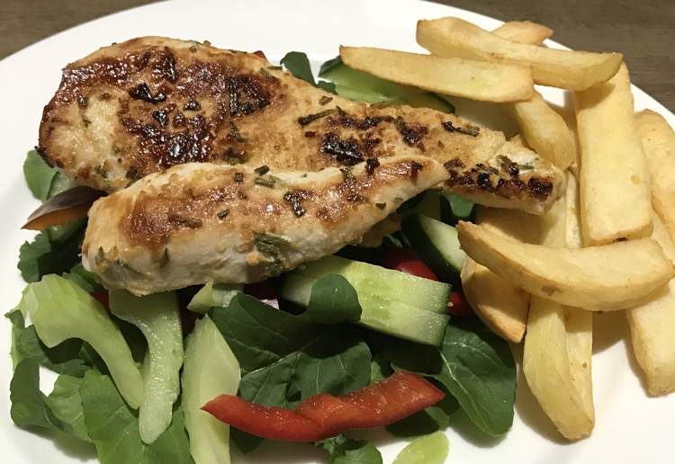 Lemon & Rosemary Grilled Chicken