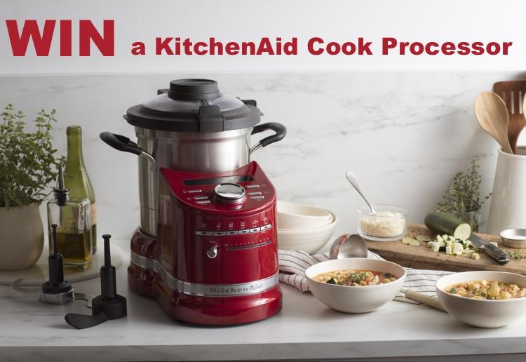 WIN A KitchenAid Cook Processor Worth Over $2,000