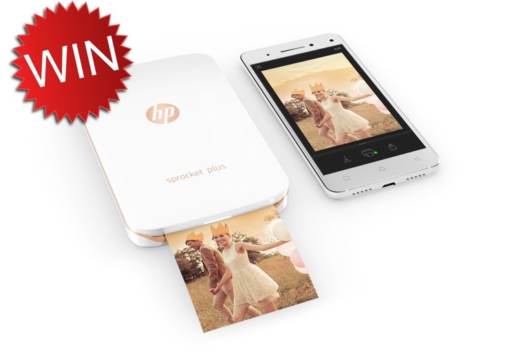Win Your Very Own HP Sprocket Plus, The Cutest Portable Photo Printer!