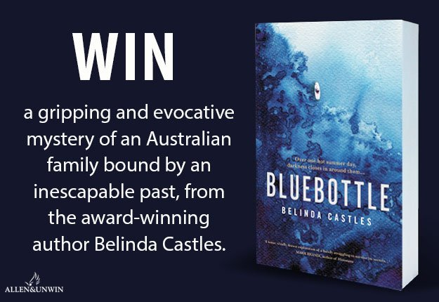 WIN 1 of 20 Copies Of Bluebottle By Belinda Castles