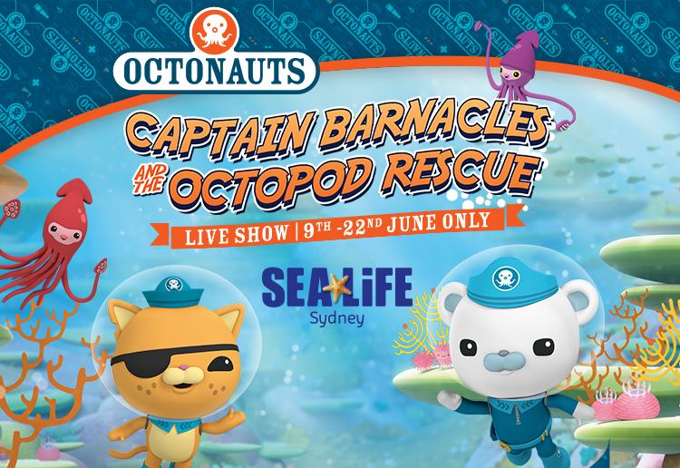 Win A Family Pass To See The Octonauts At Sea Life Sydney Aquarium