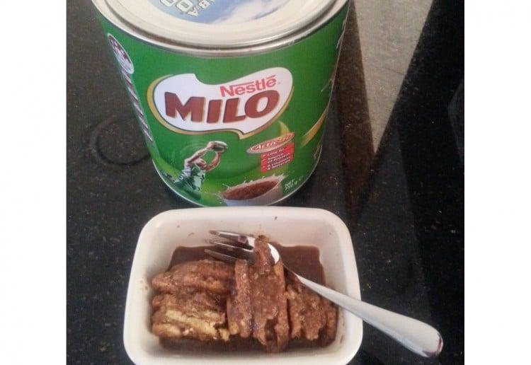 Batik Cake (Milo inspired)