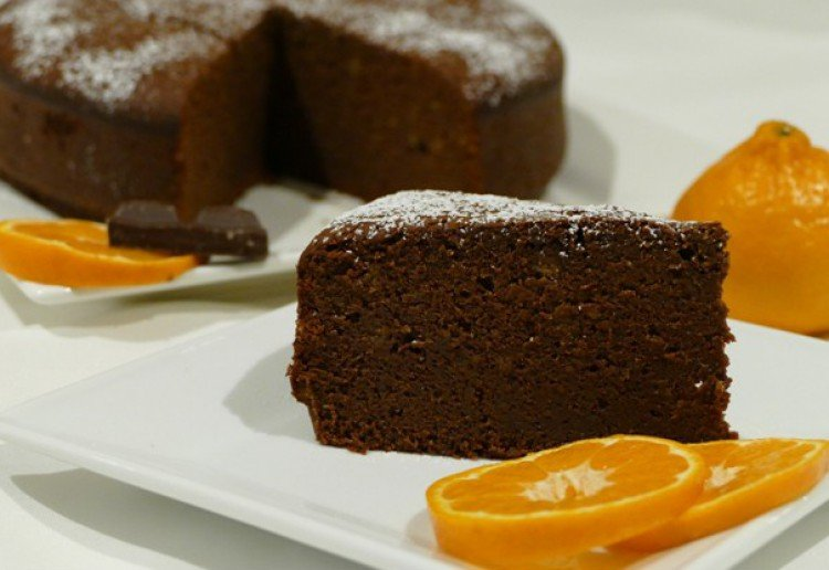 Chocolate Whole Mandarin Cake