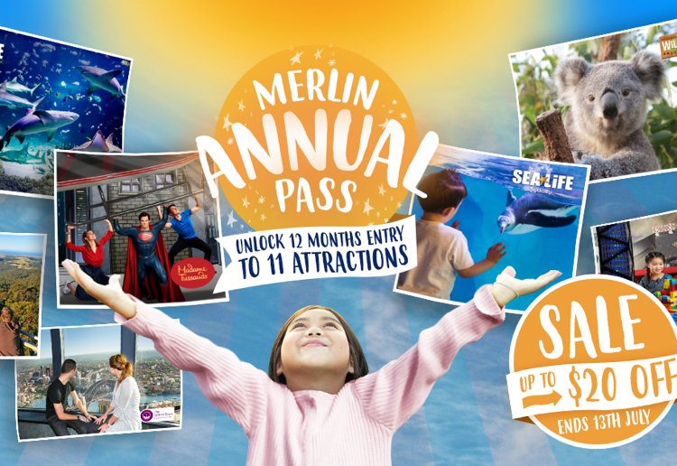 WIN One Of Two Merlin Annual Passes For Unlimited Family Fun For 12 Months