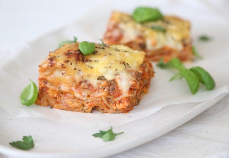 Wholesome Child's Tuna Vegetable and Chia Lasagne