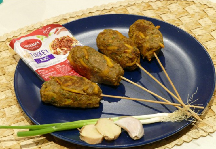 Thai Turkey koftas