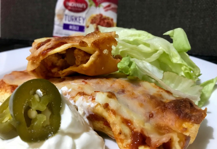 Healthy Turkey Enchiladas
