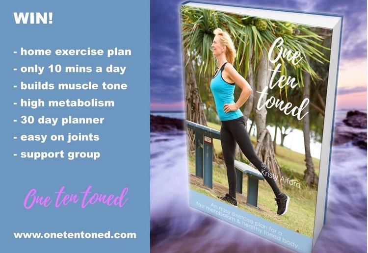 Win 1 of 50 Copies of New Exercise Plan – One Ten Toned