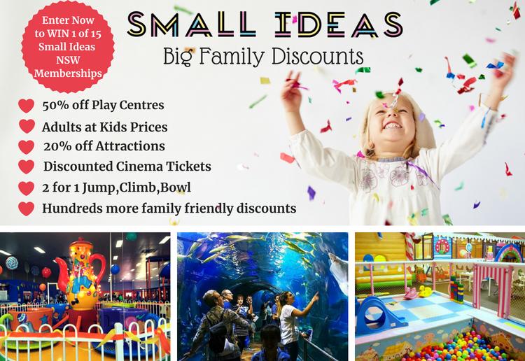 Win A Small Ideas NSW Digital Membership