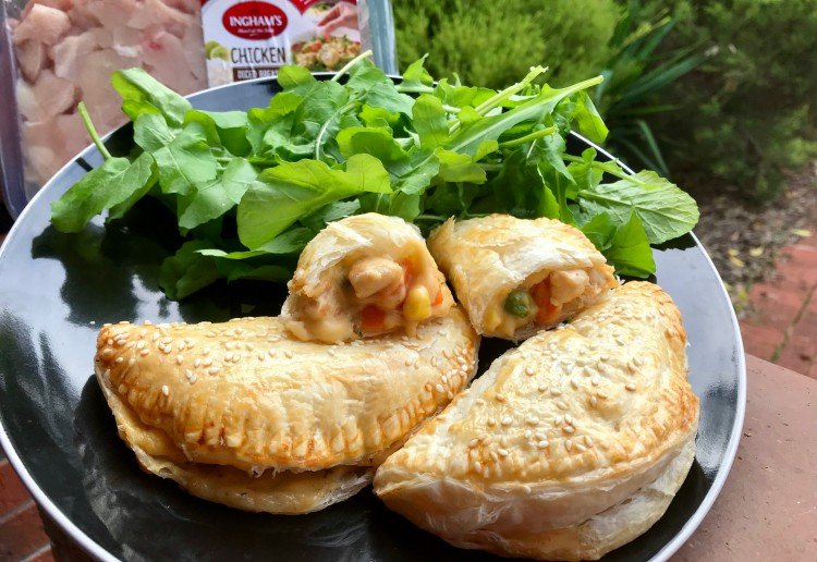 Chicken & Vegetable Mornay Pasties