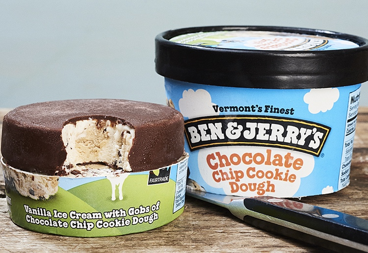 Ellen reviewed Ben & Jerry's Launches New Ice-Cream Pint Slices For On-The-Go Treats