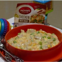 Cheesy chicken mornay
