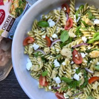 Chicken Pesto Noodle Salad